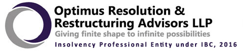 Insolvency resolution professional Optimus restructuring advisors